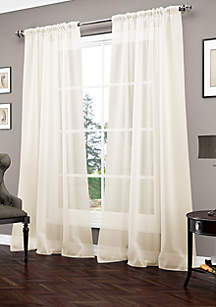 Carrington Luxury Sheer Window Panel