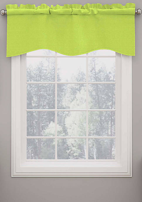 Eclipse™ Kendall Blackout Wave Curtain Valance Lime
