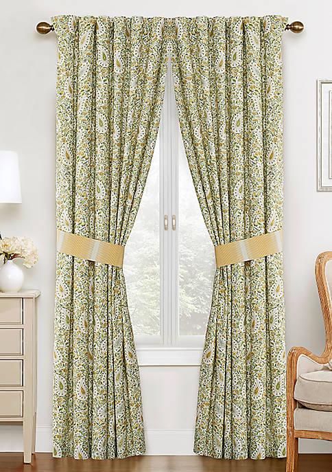 Waverly® Paisley Verveine Window Drap Pair