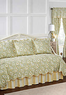 Paisley Verveine Daybed Reversible Quilt Set
