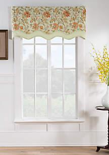 Felicite Persimmon Wave Window Valance