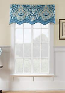 Moonlit Shadows Wave Window Valance