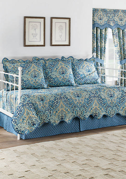 Moonlit Shadows 5 Piece Quilt Daybed Collection