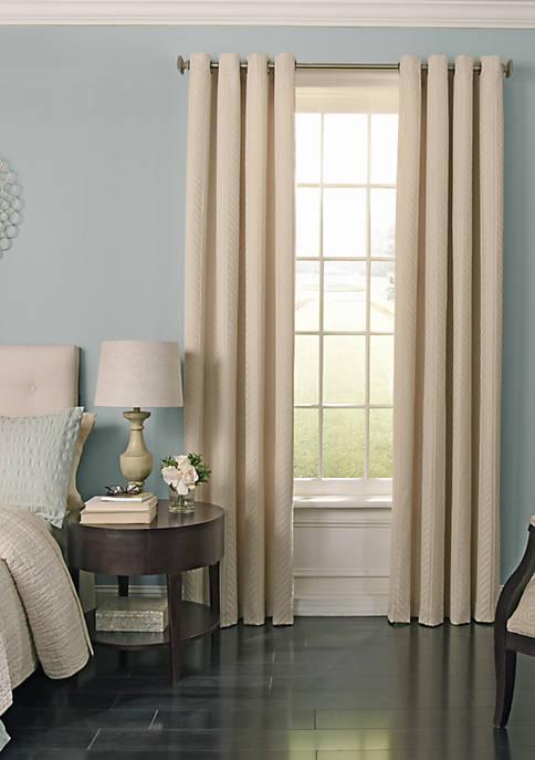 Beautyrest BR Malbrouk BO Curtain 52x95 Ivory