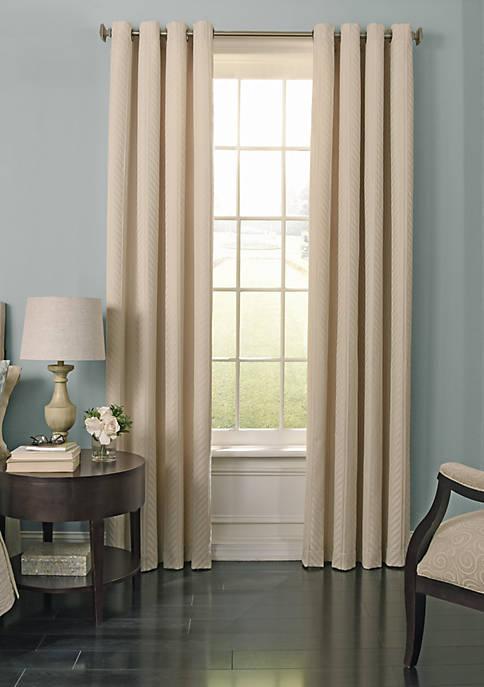Beautyrest BR Malbrouk BO Curtain 52x108 Ivory