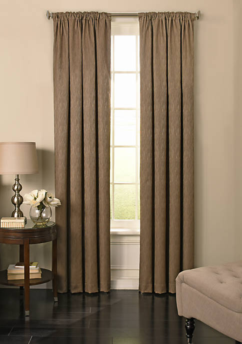 Beautyrest BR Barrou BO Curtain 52x84 Taupe