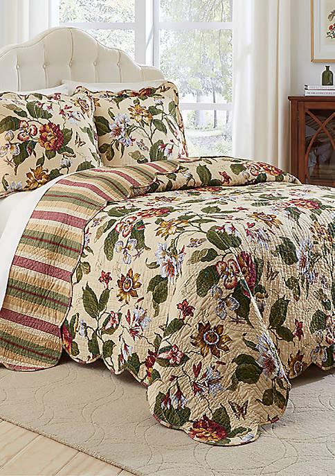 Laurel Springs King 3 Piece Bedspread Set