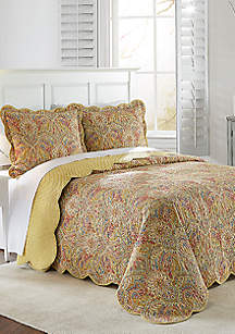 Waverly® Swept Away 3-Piece Bedspread Set