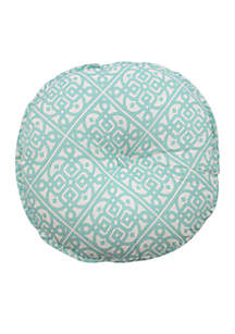 Modern Poetic Round Decorative Pillow