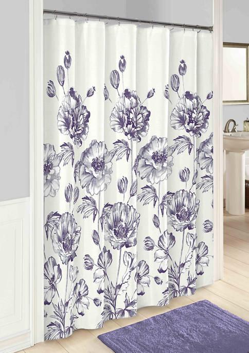 Jasmeen Fabric Shower Curtain