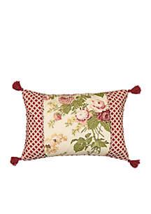 Waverly® Emma's Garden Twin Print Pillow