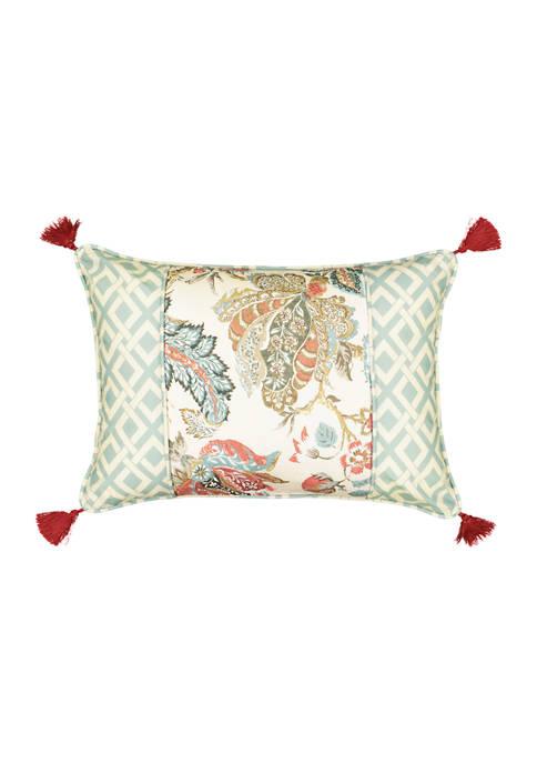 Waverly® Brompton Pieced 14x20 Decorative Accessory Pillow