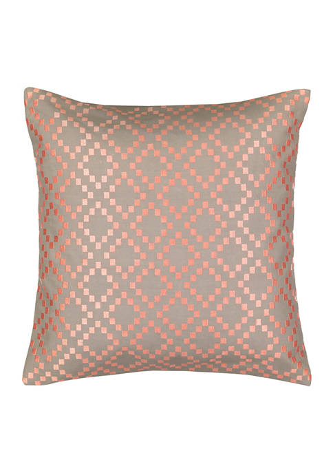 Waverly® Craft Culture 18x18 Square Embroidered Decorative Pillow