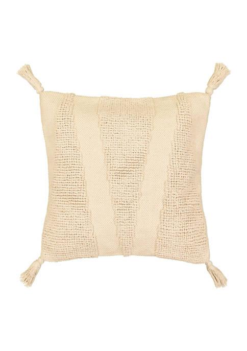 Craft Culture 20x20 Square Texture Decorative Pillow