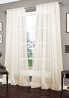 Vue Signature Carrington Luxury Sheer Window Panel