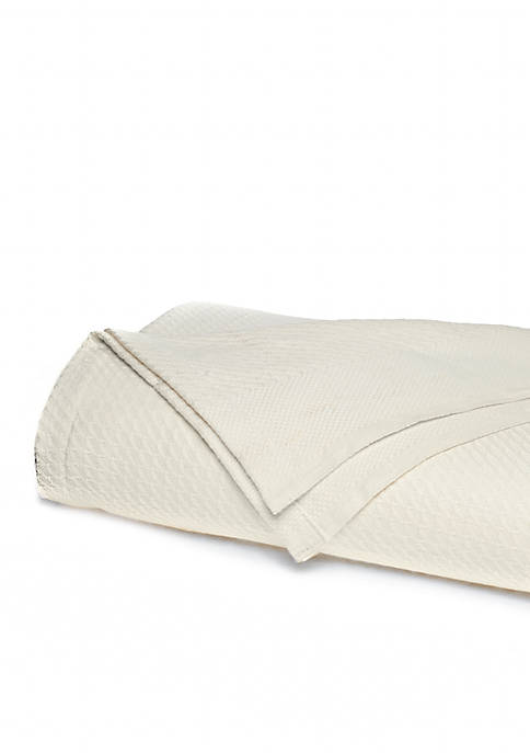 Home Accents® Soft Cotton Herringbone Blanket
