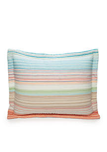Sunny Cove Quilted Standard Sham
