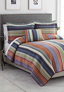Hillside Stripe Bedding Collection