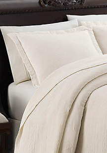 Cambridge Manor Off White Standard Sham