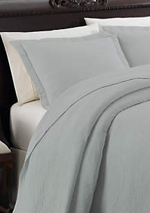 Cambridge Manor Gray/Blue Standard Sham