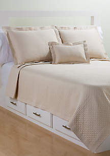 Diamante Matelasse Coverlet
