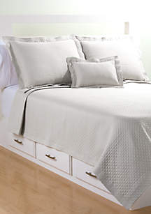 Lamont Home® Diamante Matelasse Coverlet