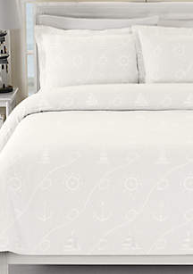 Nautical Day Coverlet