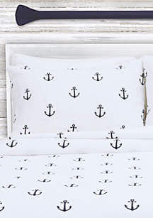 Anchors Standard Pillow Sham 20-in. x 26-in.