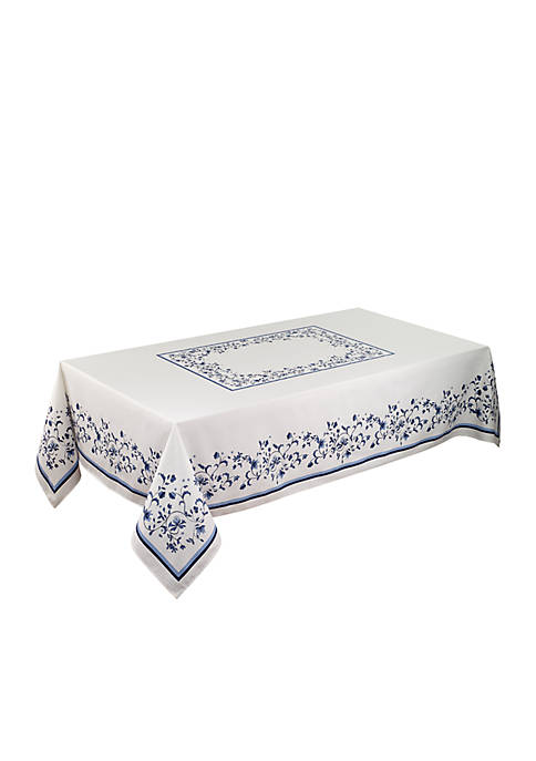 Avanti Blue Portofino Table Cloth 60-in. x 84-in.