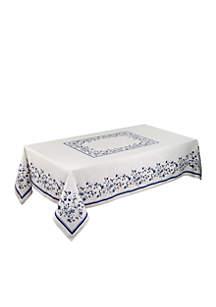 Avanti Blue Portofino Table Cloth 60-in. x 120-in.