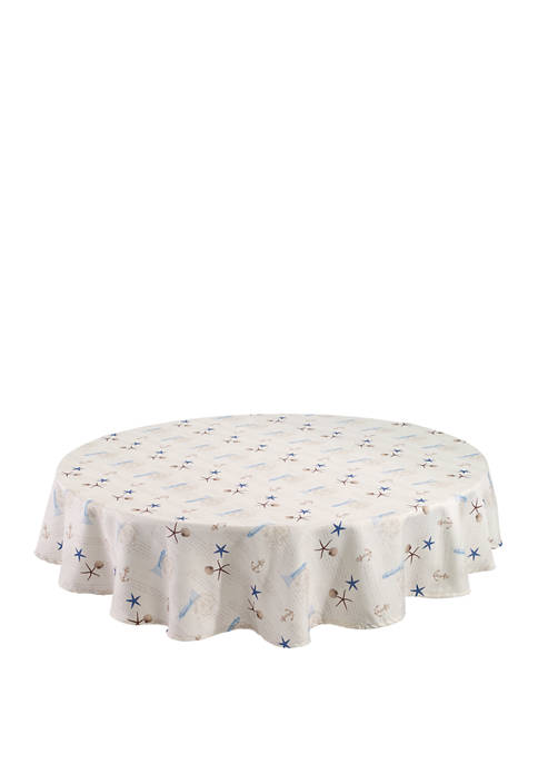 Avanti 70 Inch Antigua Round Tablecloth
