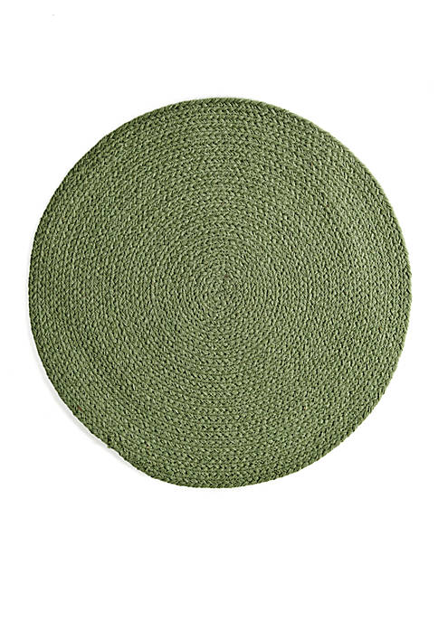 Chelsea Braided Round Placemat 15-in.