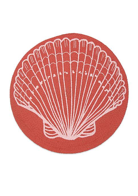 Fraiche Maison Seashell Braided Placemat