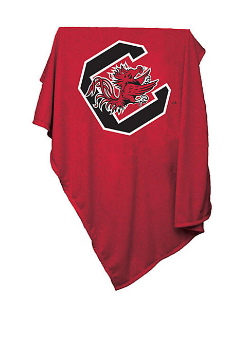 Logo South Carolina Gamecocks Sweatshirt Blanket