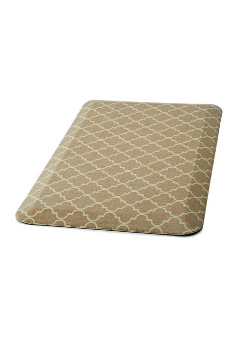 Comfort Mat- Lattice Tan