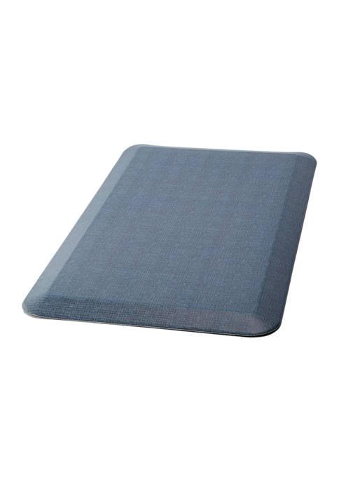 GelPro Comfort Mat- Tweed High Tide Blue