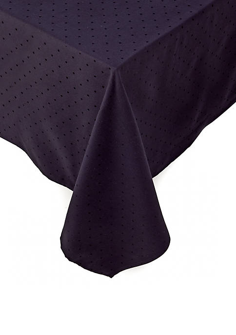 Larabee Dot Oblong Tablecloth 70-in. x 86-in.