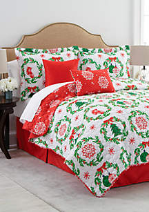 Ornamental 6-Piece Bed-In-A-Bag