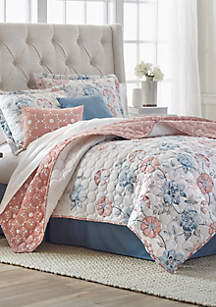 Springtime 6-Piece Quilt Bed-In-A-Bag