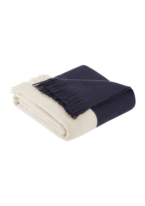 INK + IVY® Stockholm Color Block Faux Cashmere