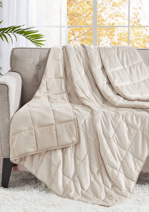 Mink to Microfiber Weighted Blanket