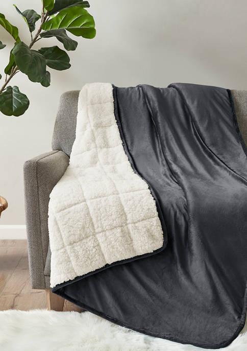 Velvet to Berber Weighted Blanket - 12 lb
