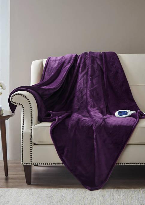 Beautyrest Heated Microlight to Berber Throw