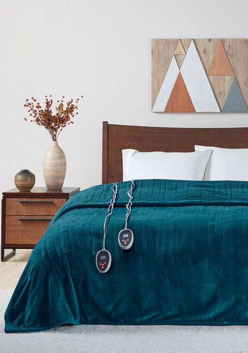 Beautyrest Heated Microlight to Berber Blanket