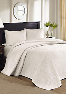 Madison Park Quebec 3-Piece Bedspread Set