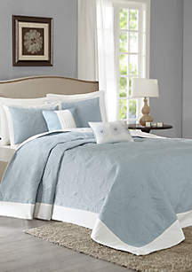 Ashbury 5-Piece Reversible Bedspread Set