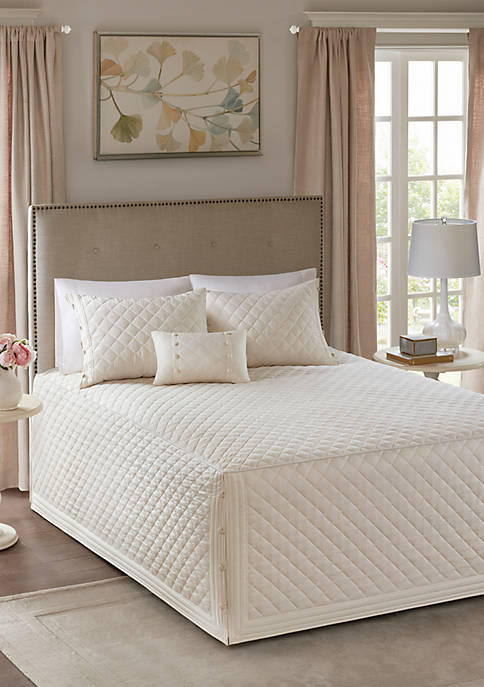 Breanna 4-Piece Tailored Bedspread Set