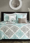 Claire 6-Piece Quilted Coverlet Set