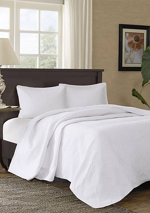 Madison Park Corrine 3-Piece Coverlet Set