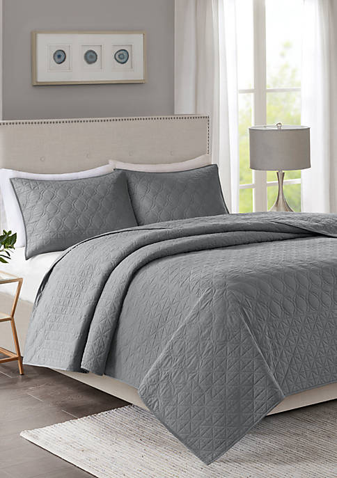 Madison Park Linnette 3-Piece Coverlet Set